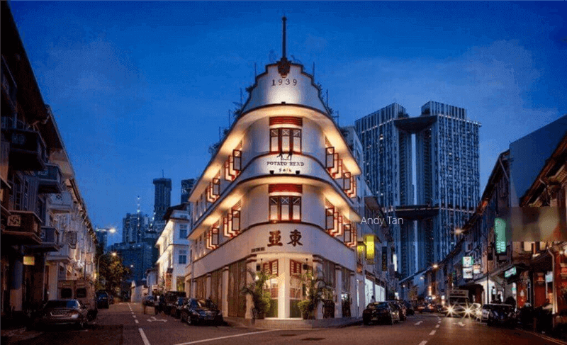 Unique And Iconic Live Music Gastro PUB Along Keong Saik Road