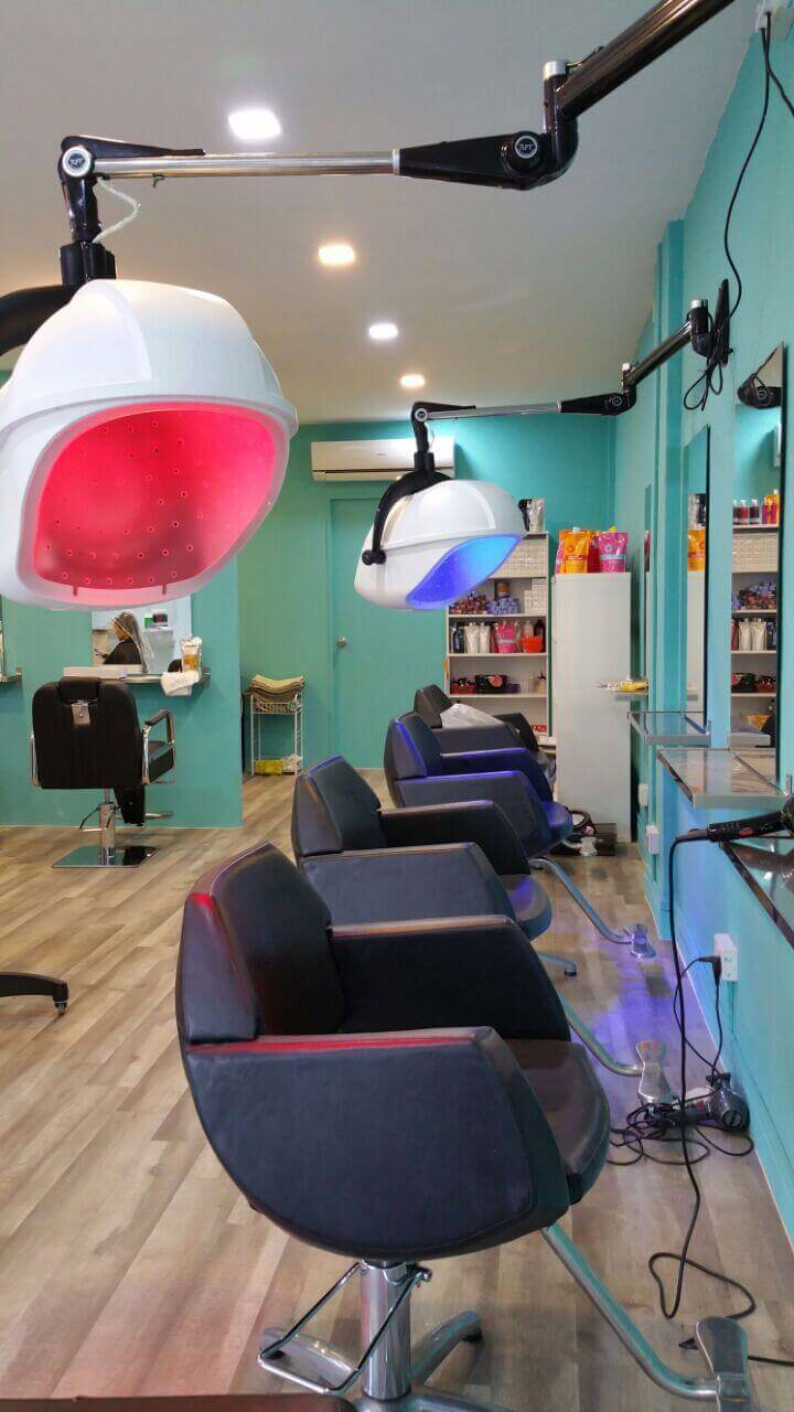 Fully Furnished Hair Salon With Membership For Sale!