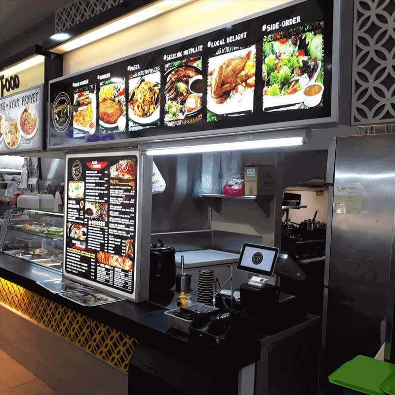 Western Food Stall For Takeover
