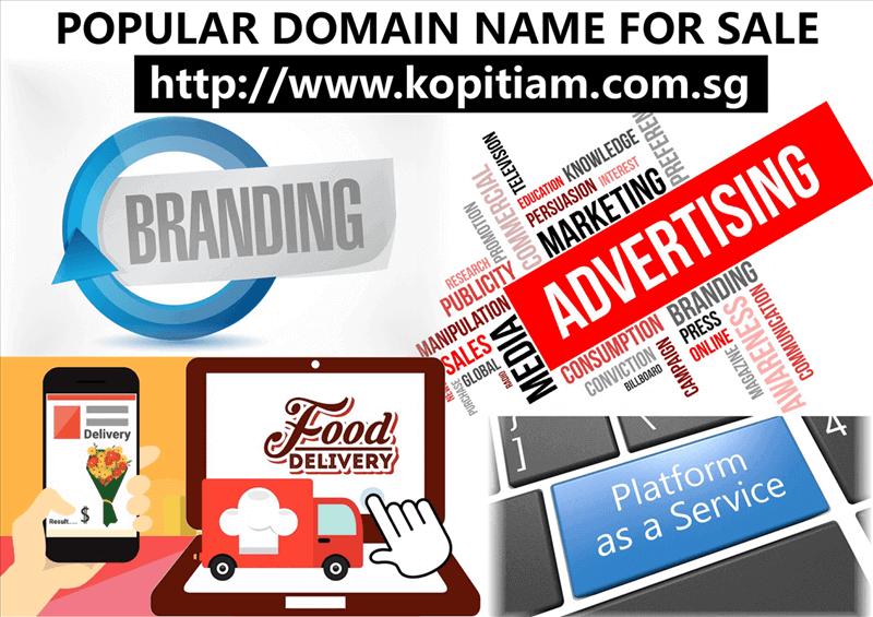Popular Domain Name For Sale : Kopitiam.Com.Sg