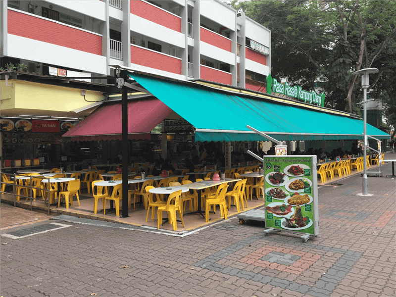 7 Stalls Coffeeshop For Takeover At Changi
