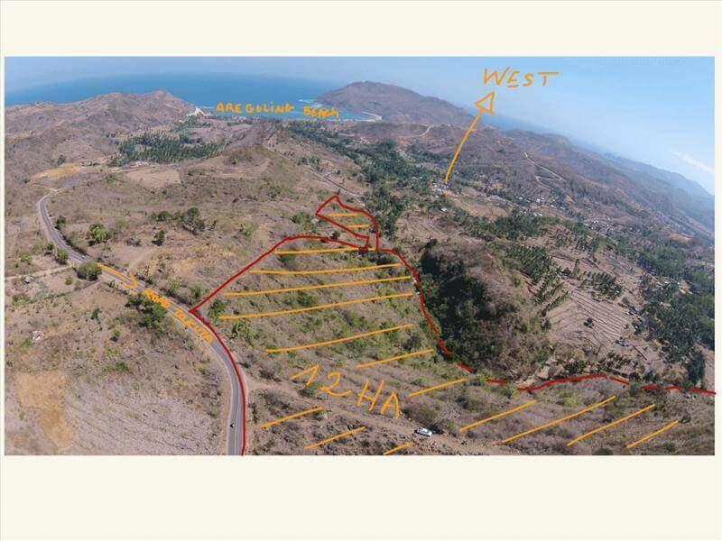 Freehold Development Land – Lombok