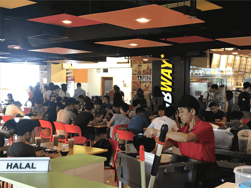 Koufu Food Court Stall For Takeover @ Ngee Ann Poly ! Rental $4,700