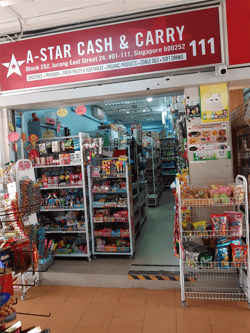 Well maintained mini mart for sales at Block 252, Jurong East Street 24, #01-111, Singapore 600252