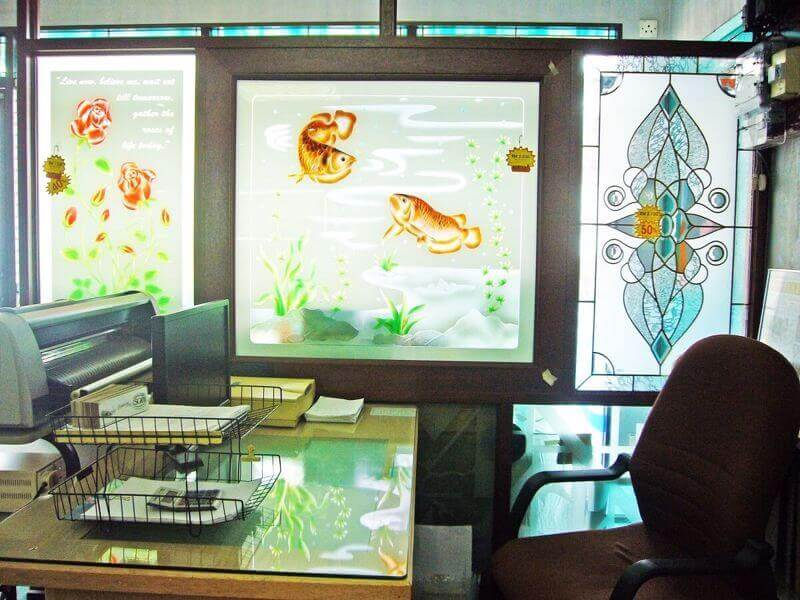 Decorative Glass Business Ready For Takeover