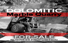 Dolomitic Marble Quarry For Sale, With High Magnesium Oxide Content