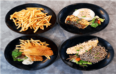 Potentially Expandable Western Fish Fusion F&B Concept
